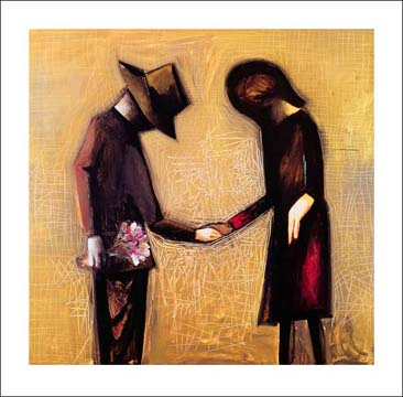 Charles Blackman – The Meeting